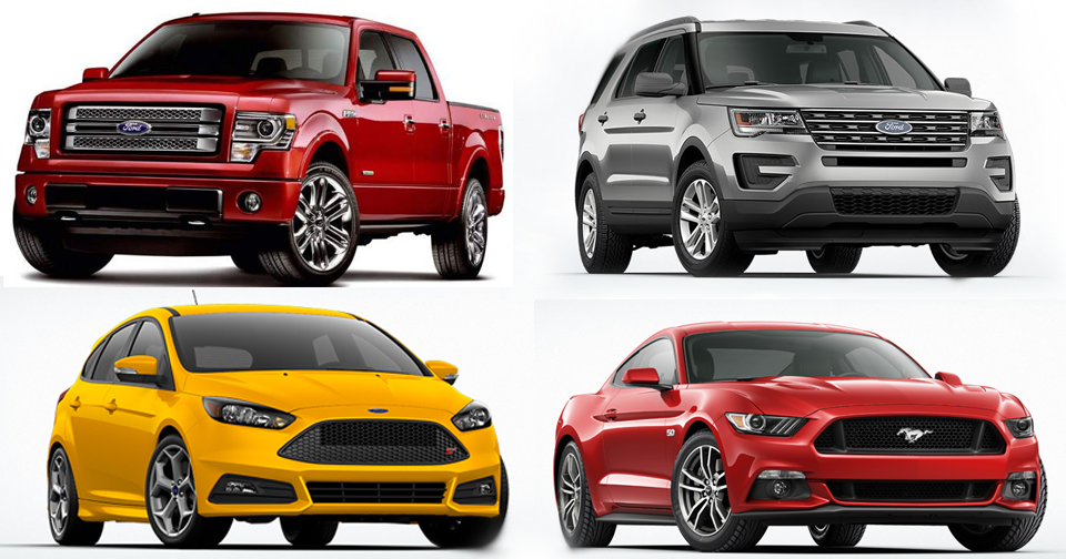 4 Ford Models Awarded for Low Cost to Own