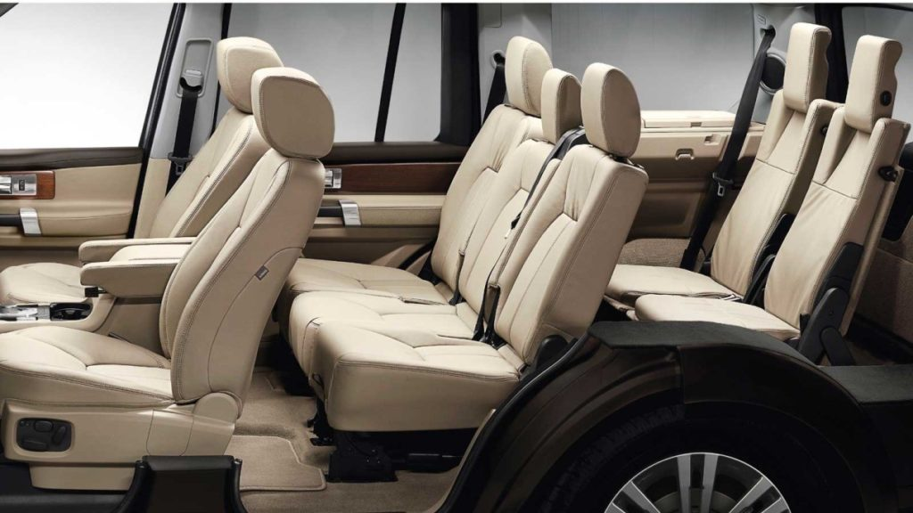 discovering the land rover lr4 interior and accessories