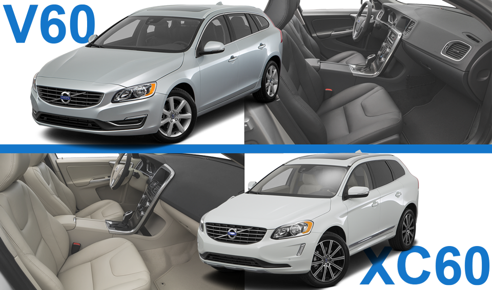 Choosing Between The Volvo Xc60 And V60 Berglund Cars