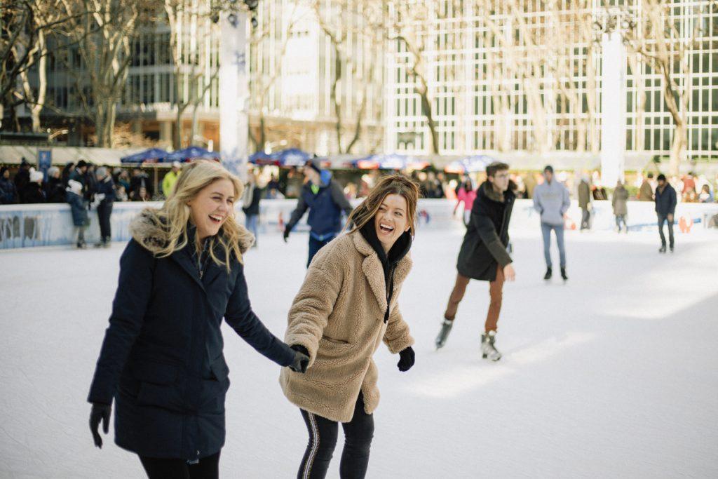 ice skating in Roanoke