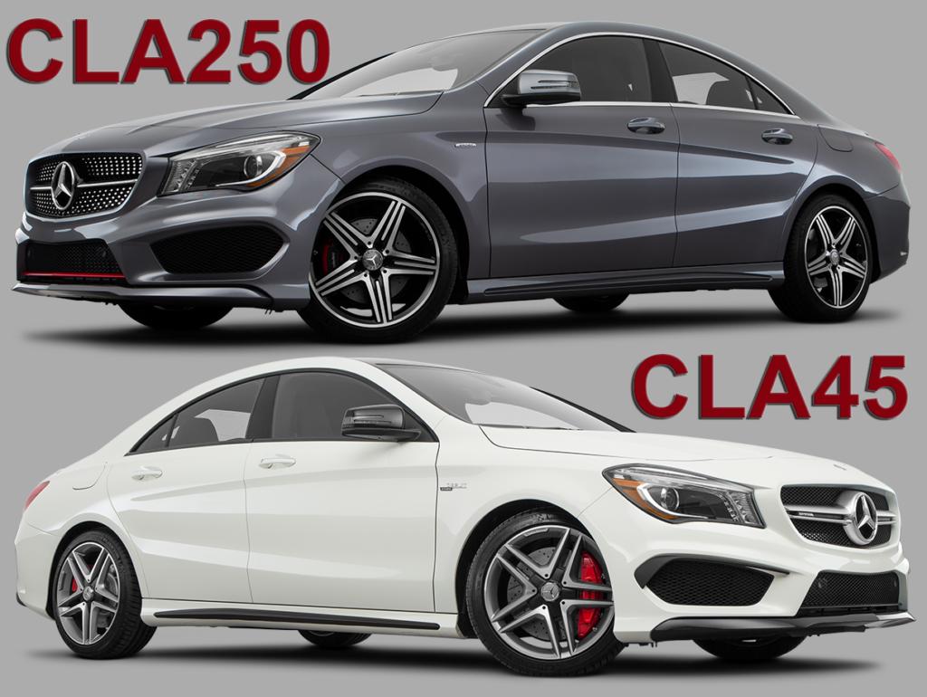 CLA250 and CLA45