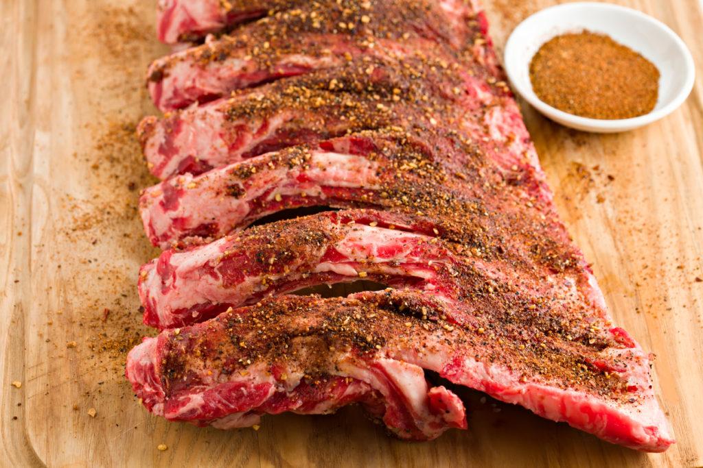 Beef Ribs And Dry Rub